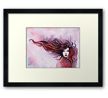Girl portrait) Framed Print