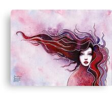Girl portrait) Canvas Print