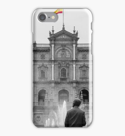 Plaza de Espana - Details from Seville iPhone Case/Skin