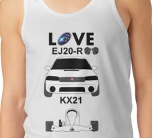 Subaru love Tank Top