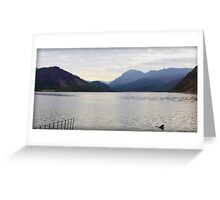 Ennerdale Water, Lake District National Park, UK Greeting Card