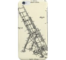 Fireman´s Ladder- 1895 iPhone Case/Skin