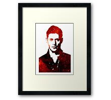 Space Dean Winchester Framed Print
