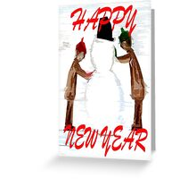 HAPPY NEW YEAR 21 Greeting Card