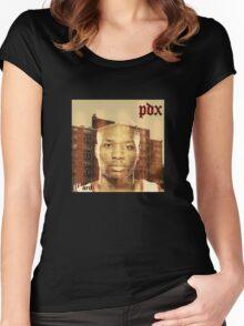 illard - Damian Lillard Portland Trailblazers Women's Fitted Scoop T-Shirt