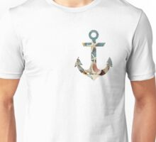 Anchor Seashells Unisex T-Shirt