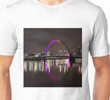 Squinty Bridge, Glasgow Unisex T-Shirt