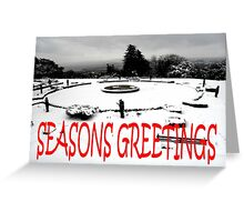 SEASONS GREETINGS 38 Greeting Card