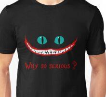 Chever Cat Joker Alice in Wonderland Unisex T-Shirt