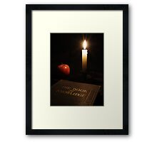 Book of Knowledge  Framed Print