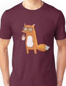 Fox & coffee Unisex T-Shirt