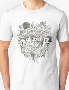 My Little Pony - mid Season 2 Groupshot T-Shirt