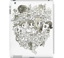 My Little Pony - mid Season 2 Groupshot iPad Case/Skin
