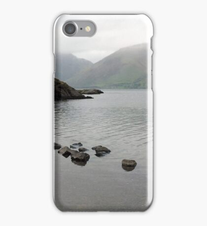 Boats at Wastwater, Cumbria, UK iPhone Case/Skin