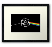 D&d D20 Success Framed Print