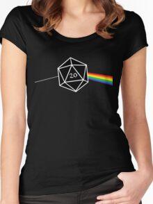 D&d D20 Success Women's Fitted Scoop T-Shirt