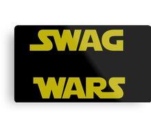 star wars- Swag Wars Metal Print