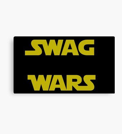 star wars- Swag Wars Canvas Print