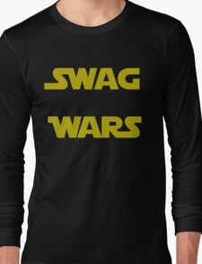star wars- Swag Wars Long Sleeve T-Shirt