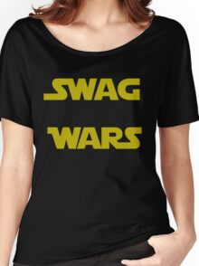 star wars- Swag Wars Women's Relaxed Fit T-Shirt