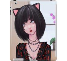 Miss Kitty Black  iPad Case/Skin
