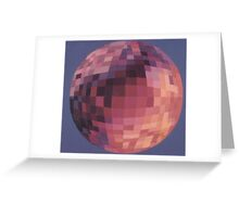 World is One with Different Colors. Greeting Card