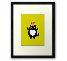 Fat Cat Framed Print