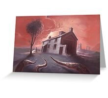 Isolated House Greeting Card