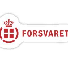 Forsvaret (Royal Danish Army) - Logo Sticker