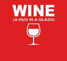 Wine a hug in a glass Tank Top