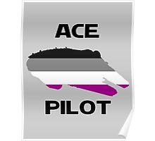 Ace pilot Poster