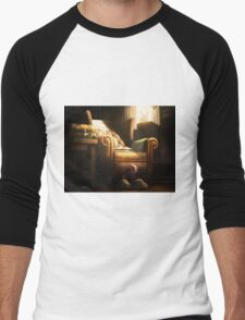 Unexplained Disappearance Men's Baseball ¾ T-Shirt