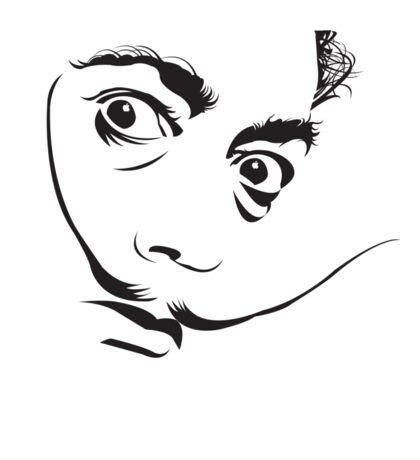 Salvador Dali Sticker