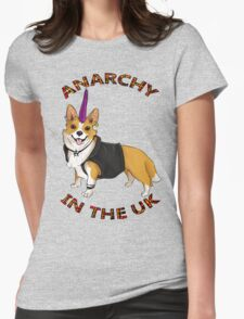 ANARCHY IN THE UK Womens Fitted T-Shirt
