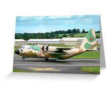 Israeli C-130H 102 Entebbe Veteran Greeting Card
