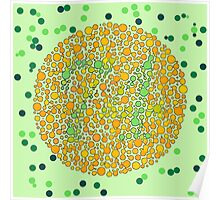 Color blindness Poster