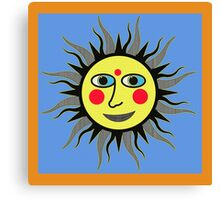 SUNNY LISA SMILES Canvas Print