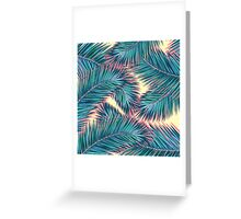 palm tres Greeting Card