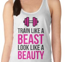 Train Like a Beast, Look Like a Beauty! Women's Tank Top
