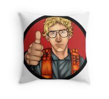 MATT The Radar Technician - Adam Driver SNL Star Wars Throw Pillow