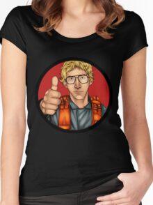 MATT The Radar Technician - Adam Driver SNL Star Wars Women's Fitted Scoop T-Shirt
