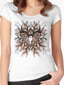 Pagan mandala 2 Women's Fitted Scoop T-Shirt
