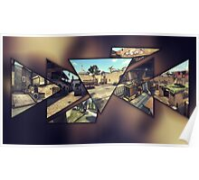 CS:GO Maps Poster