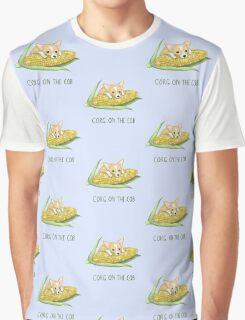 Corg on the Cob Graphic T-Shirt