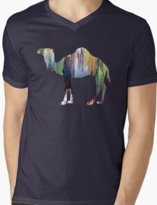 Dromedary  Mens V-Neck T-Shirt