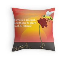 Nature's Very Best Moment Throw Pillow