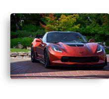 201X Chevrolet Corvette 'Copper Head' C7 Canvas Print
