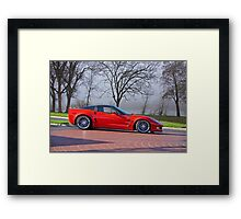 2009 Chevrolet Corvette ZR 1 Framed Print