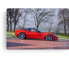 2009 Chevrolet Corvette ZR 1 Canvas Print