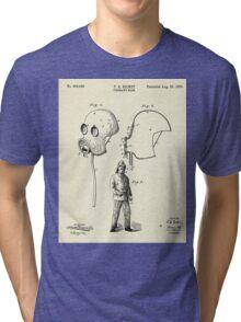 Fireman´s Mask-1889 Tri-blend T-Shirt
